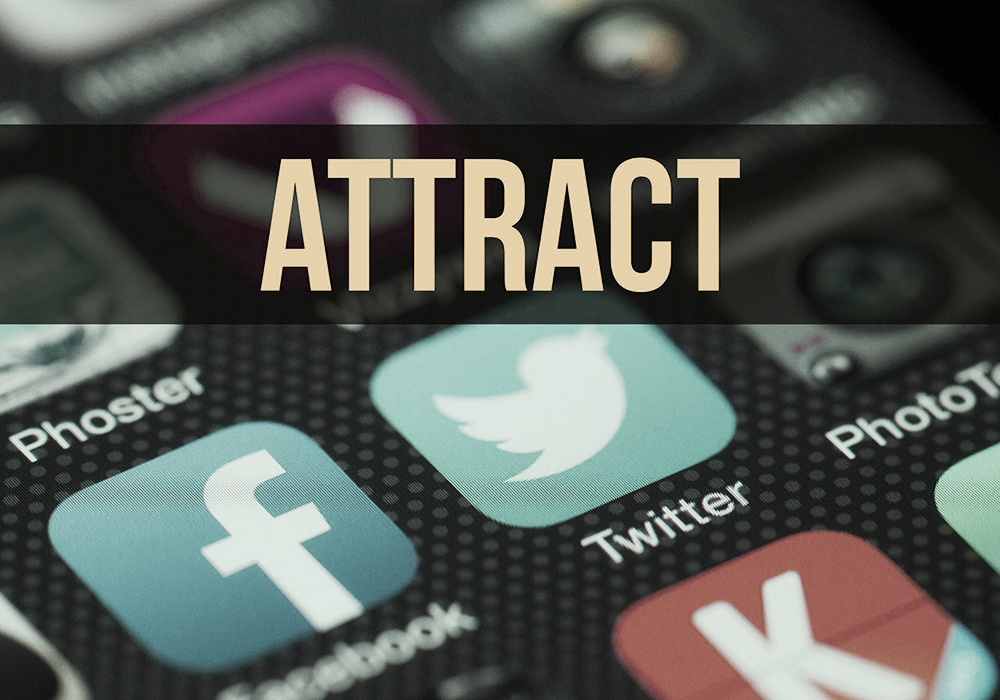 attract your customers and clients with social media