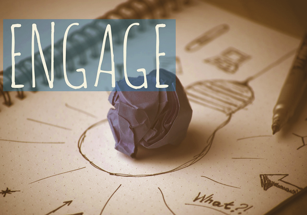 engage your customers and clients