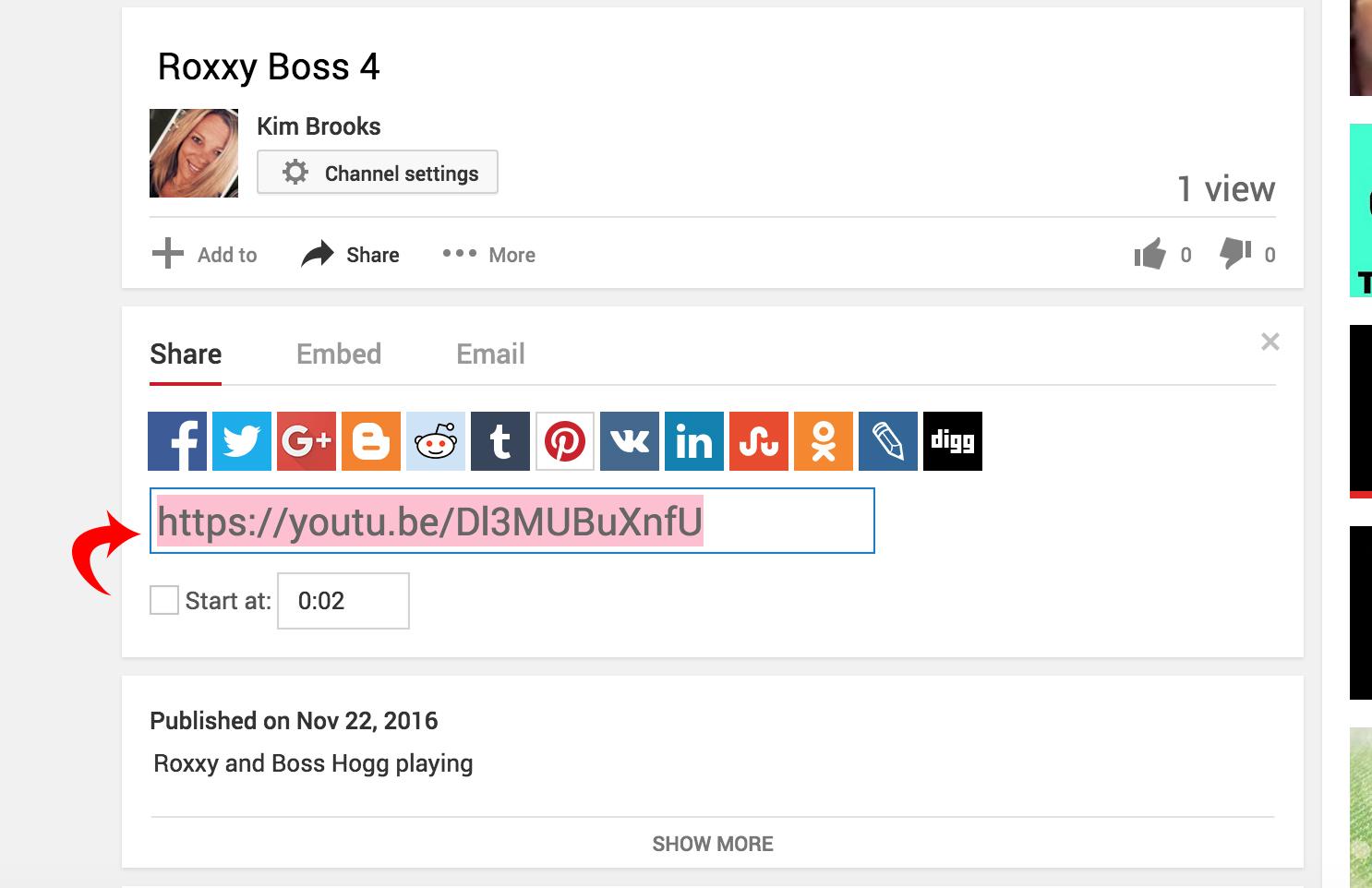Komo2o community add video 2